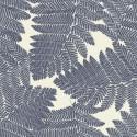 """""""Wood"""" marine Coupon 50x280cm Tissu coton Thevenon"""