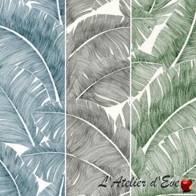 Tissu 100% coton en grande largeur pour nappe Totem de Thevenon