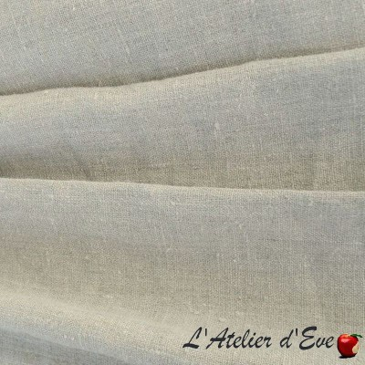 The cyclades Cotton fabric wide width furnishing Thevenon