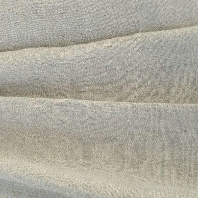 tissu lin enduit au m tre naturel de thevenon paris. Black Bedroom Furniture Sets. Home Design Ideas