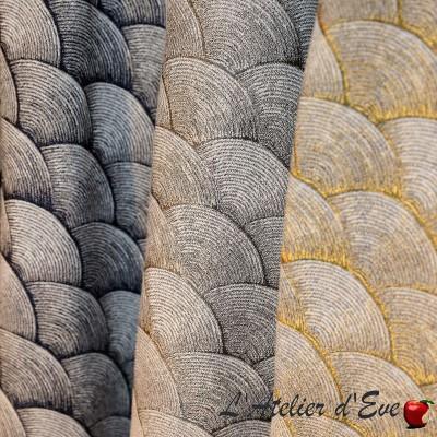 """Syracure"" fabric upholstery jacquard Thévenon"