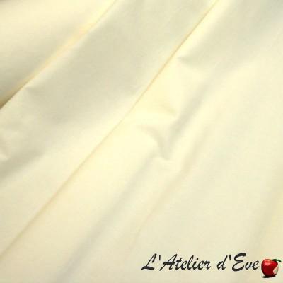 """Laurence"" discount 30% roll fabric lining Thévenon room/half room"