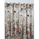 """Black Forest"" curtain satin Made in France Thévenon"