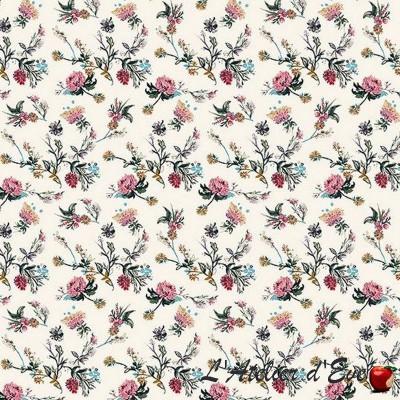 """Girolata"" cotton fabric great width Thévenon"