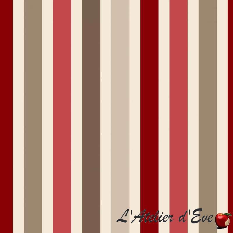 coupon-lambada-rouge-creme-tissu-ameublement-bachette-coton-thevenon