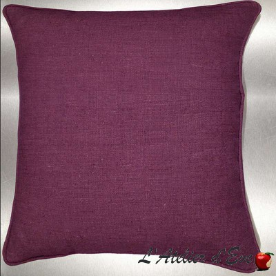 A bicycle cushion/pillow case (2 dimensions) fabric cotton Thévenon