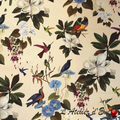 """""""Once upon a time"""" Coupon 70x150cm Thevenon furnishing fabric"""