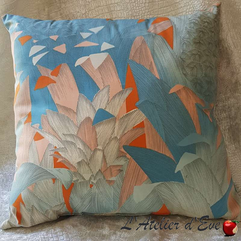 coussin fabrication artisanale made in france tissu thevenon