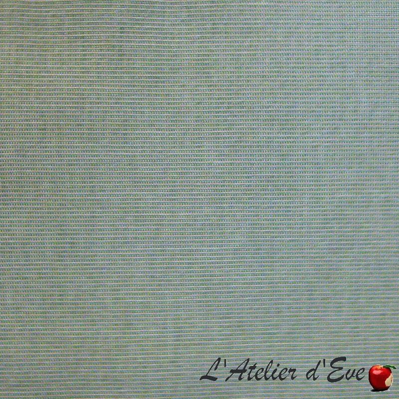 """""""Toile extérieure"""" chiné bleu Bâche déperlante traitée téflon A101-85"""