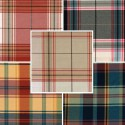 """Glasgow"" Tissu écossais grande largeur"