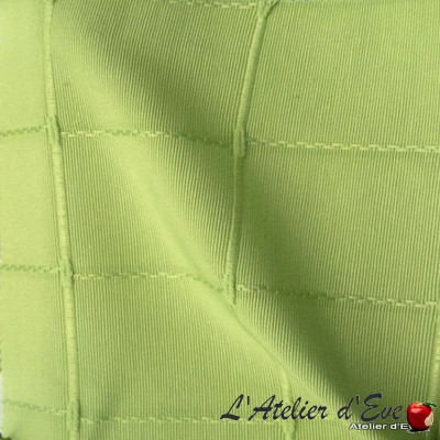 """Isis vert"" Coupon 150x200cm tissu ameublement"