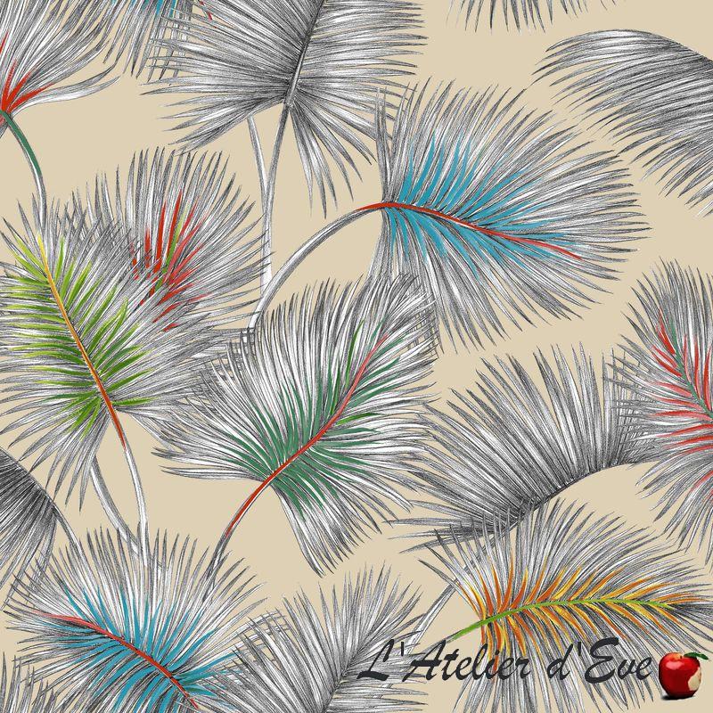 """Palmy"" Remise 30% Rouleau tissu lin Thevenon"