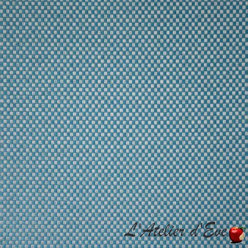 """Ibiza"" Tissu bleu extérieur aquaclean Casal"