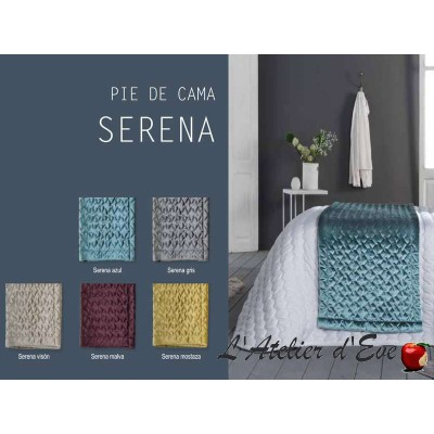 """""""Serena"""" Bout de lit velours Antilo"""