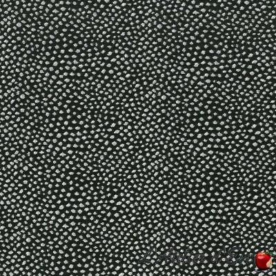 """""""Iena noir"""" Coupon 65x110cm tissu ameublement Thevenon"""