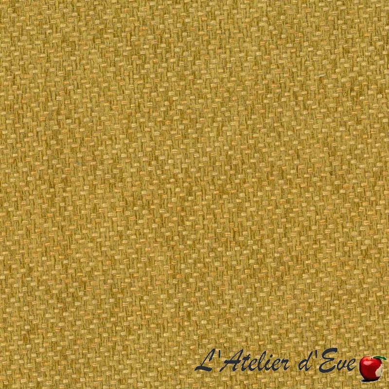 """""""Toscane"""" jaune Tissu tissé Thevenon"""