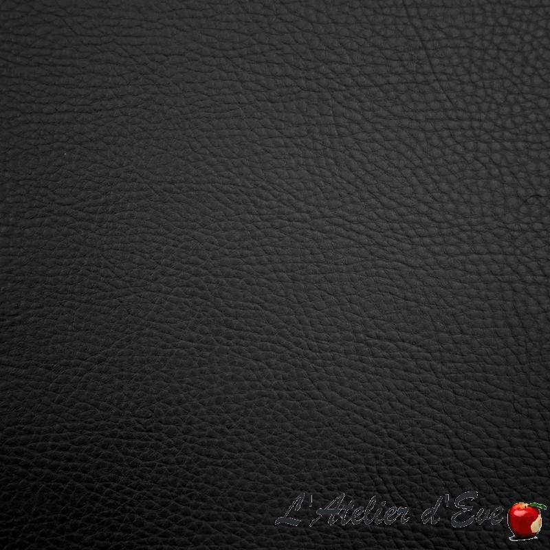 """""""Parotega"""" Tissu simili cuir anthracite non feu M1 Casal"""