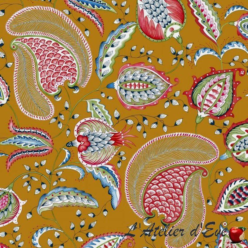 034-Bollywood-034-Toile-de-coton-grande-largeur-Thevenon miniatuur 4