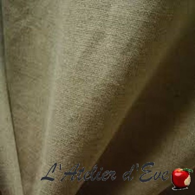"""Linen canvas"" Linen curtain Made in France Thevenon"