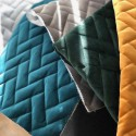 """""""Sweet quilted"""" quilted velvet fabric Thevenon"""