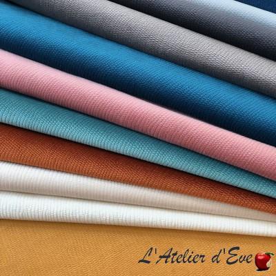 """Beluga"" jacquard fabric Thevenon"