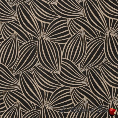 """Cacao"" Coupon 100x140cm tissu ameublement Thevenon"