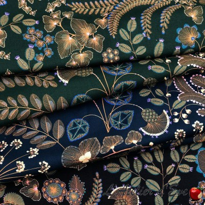 """Phoenix"" Discount 30% Roll cotton fabric Thevenon"