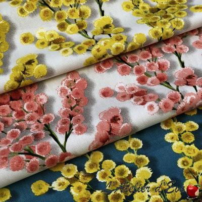 """""""Coco"""" Thevenon wide-flowered cotton fabric"""