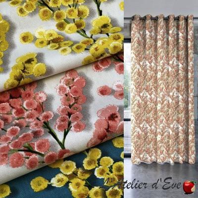 """""""Coco"""" Cotton curtain Made in France Thevenon"""