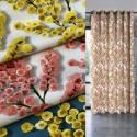 """""""Mimi Mosa"""" Cotton curtain Made in France Thevenon"""