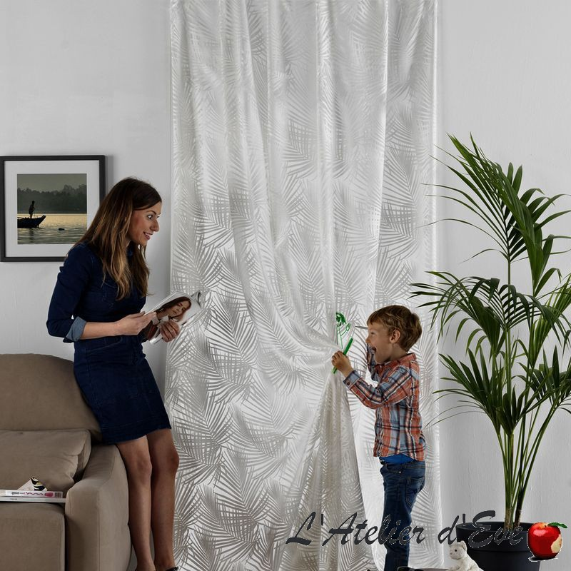 """""""Levanzo"""" Sheer curtain by the meter Casal"""
