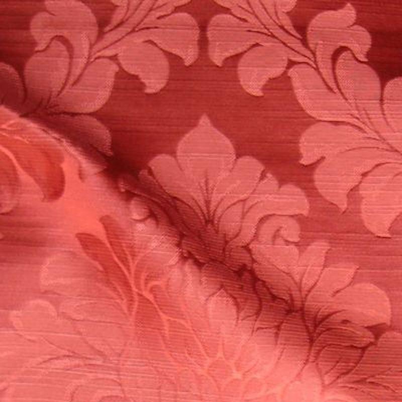 """Tissu ameublement Thevenon Paris """"Angora"""" bordeaux"""