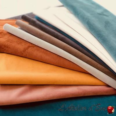 """""""Duchess"""" velvet fabric Thevenon"""