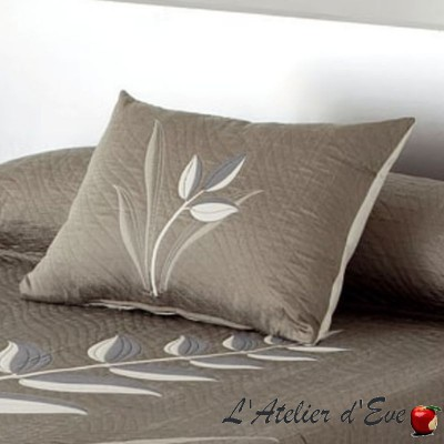 """Nayla""Coussin polycoton reversible Reig Marti C.09"