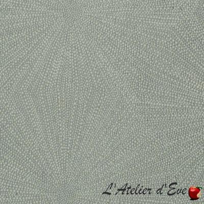 """- """"Dent de lion """" gris Coupon 140x160cm tissu ameublement Thevenon"""