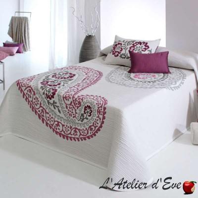 """Caleb"" flowery bedspread C.01 Reig Marti"