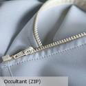 """""""Doublure universelle"""" occultante avec zip Thevenon"""