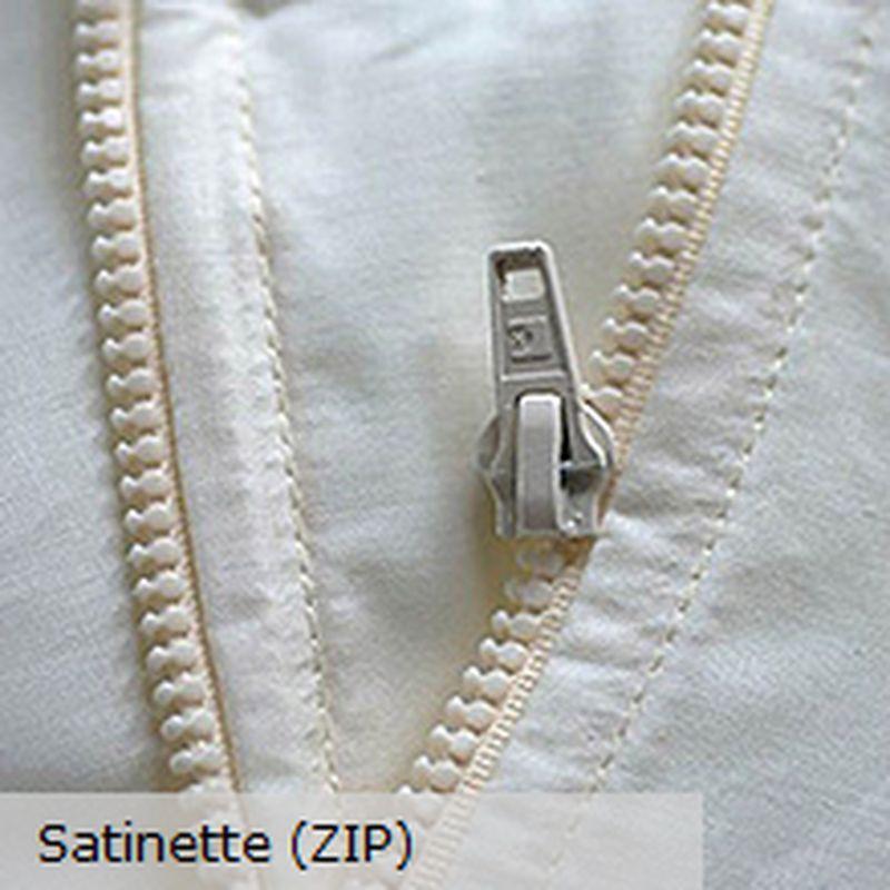 Doublure universelle satinette avec zip pour panneau prêt a poser Thevenon
