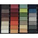 """Secura B1 1314/300"" Roller dimout blackout fabric M1 linen look Bautex"