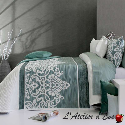 """Chaina"" washable polycotton bedspread Reig Marti C.04"