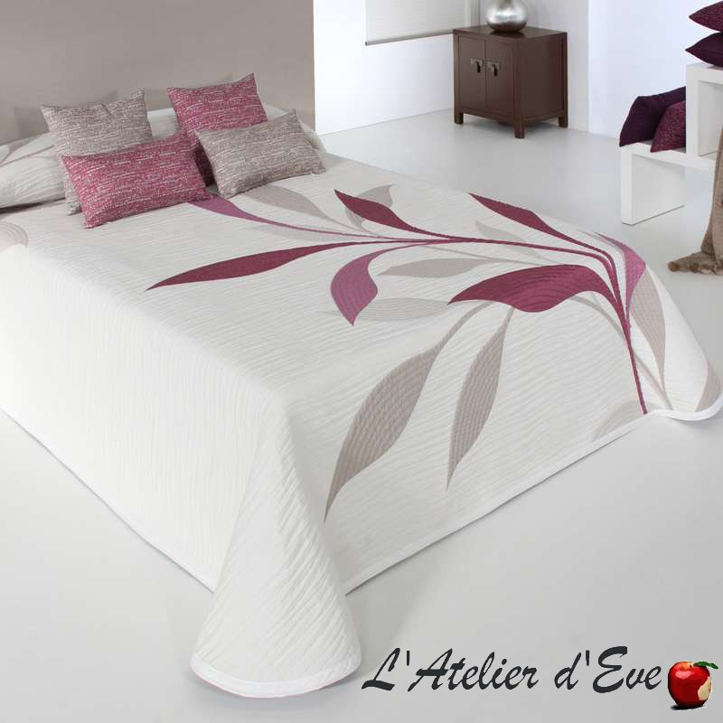 Smart fleuri couvre-lit polycoton lavable réversible C.19 Reig Marti