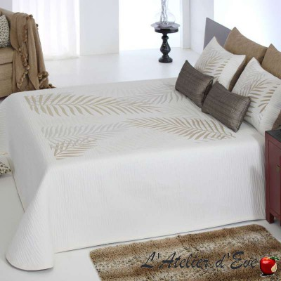 """Libor"" reversible polycotton reversible bedspread Reig Marti C.01"