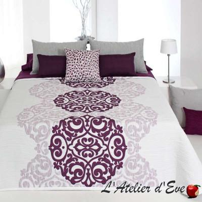 """Lori"" Washable polycotton reversible bedspread Reig Marti C.01"