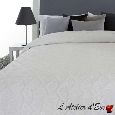 """""""Oksan"""" Promotion couvre-lit blanc polyester lavable Reig Marti C.00"""