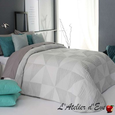 """Oksan"" Promotion white washable polyester bedspread Reig Marti C.00"