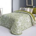 """""""Octavia"""" Promotion couvre-lit fleuri polyester lavable Reig Marti C.04"""