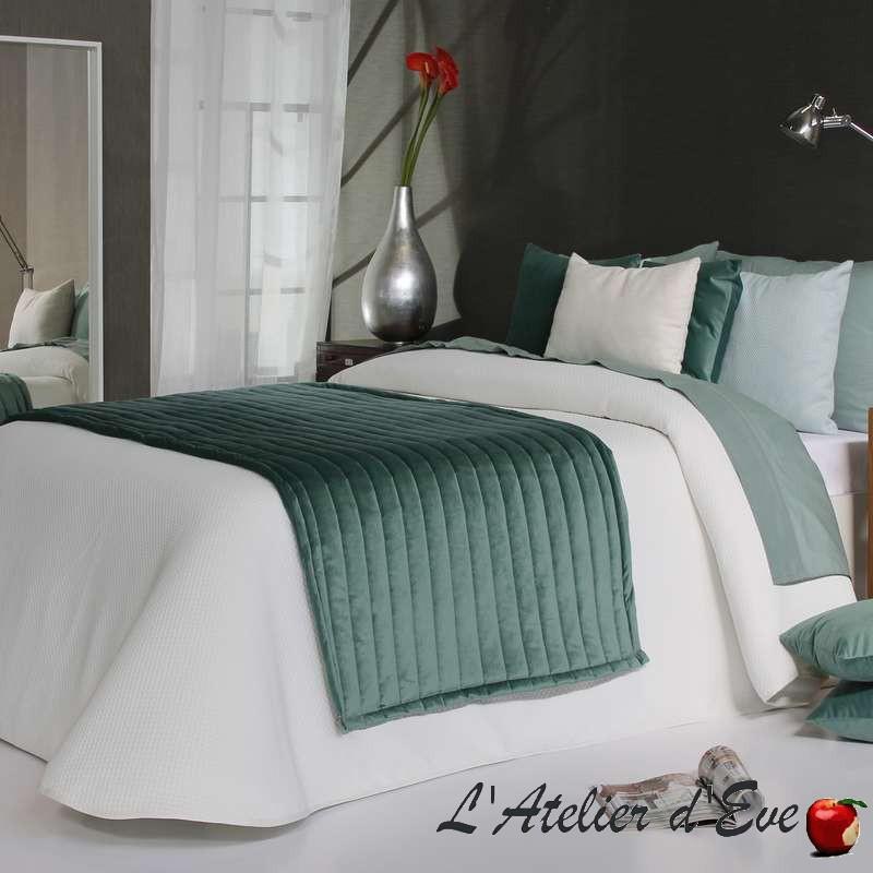 """""""Polomar"""" Promotion couvre-lit piqué blanc polyester lavable Reig Marti C.00"""