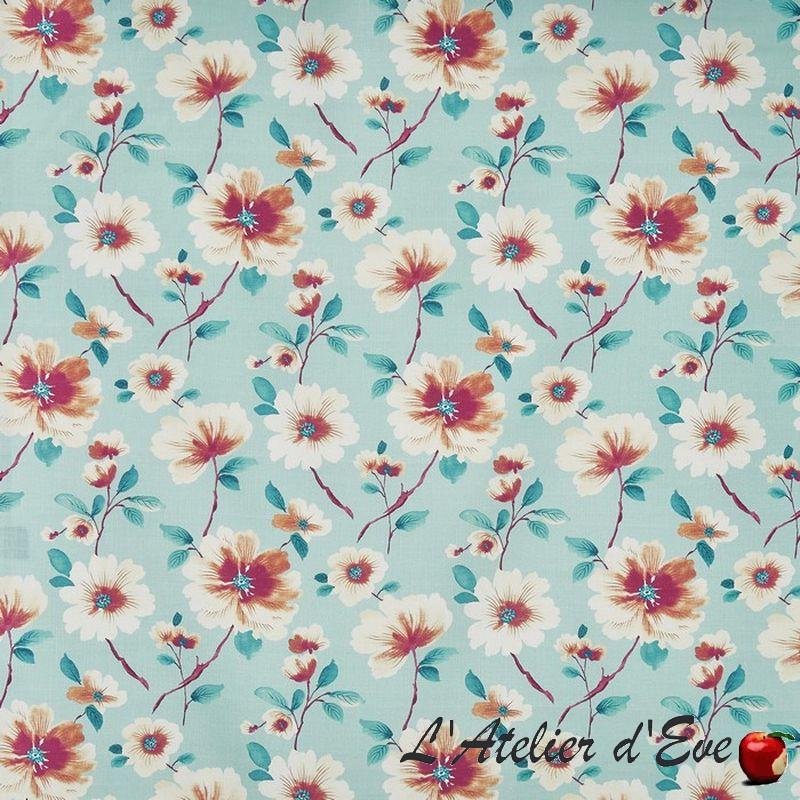 """""""Abbotsburry"""" Tissu tingerlilly fleuri Tresco Prestigious Textiles"""