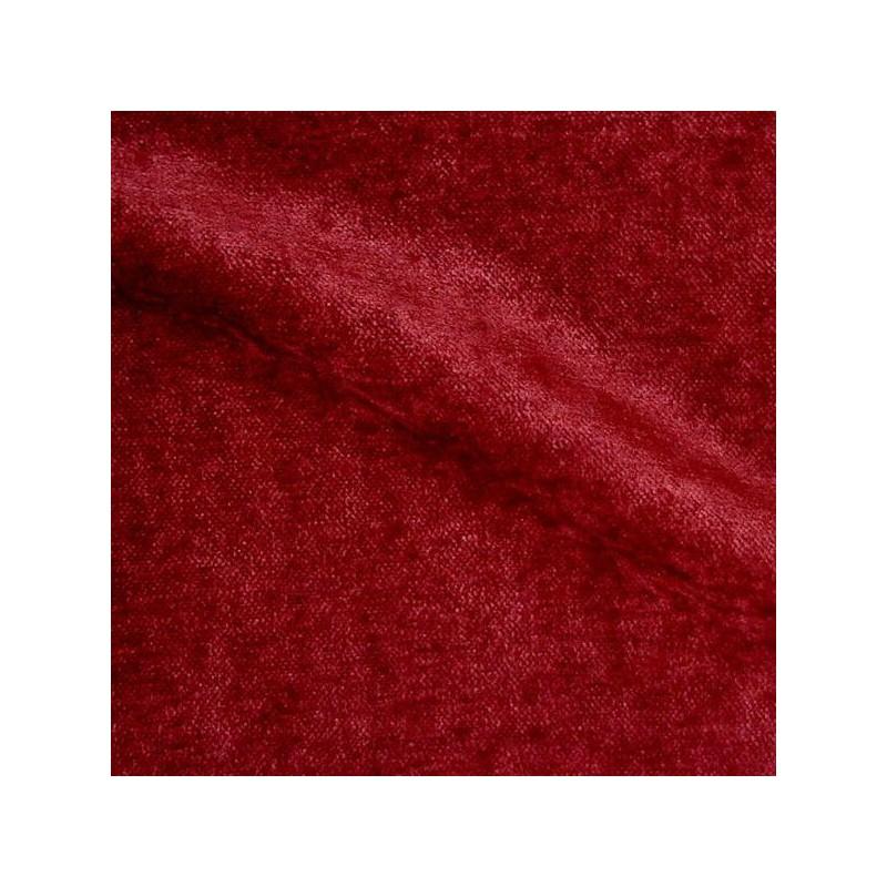 Cosy Tissu d'ameublement velours bordeaux
