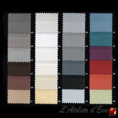 """""""Oscuratex 1114/280"""" Rouleau tissu occultant non feu grande largeur L.280cm Bautex"""